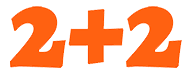 logo 2+2